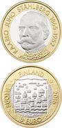 "FINLANDIA / FINLAND  5€  2.016  2016  BIMETALICA  SC/UNC   ""K.J. Ståhlberg""   T-DL-11.896 - Finland"