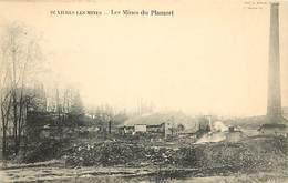 - Allier -ref-B813- Buxieres Les Mines - Mines De Plamort - Mine - Mineurs - Metiers - Carte Bon Etat - - Francia