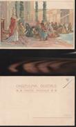 9142) PAPA LEONE XIII INCONTRA E BENEDICE STRANIERI A SAN PIETRO NON VIAGGIATA 1902 CIRCA - Papas