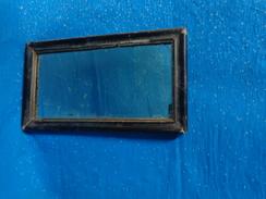Lot De 2 Miroir -petits  14.5 Cm X26 Cm- 30x36 Cadre Decoré Et Porte Photo Verre Epais Bisauté 30x24 - Autres