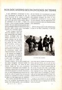 1906 - Edmond Laval - Nos Douaniers Des Frontières De Terre - 13 Pp. Et 12 Photos - FRANCO DE PORT - Vieux Papiers