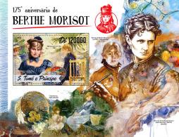 SAO TOME 2016 ** Berthe Morisot Paintings Gemälde Peintures S/S - IMPERFORATED - A1649 - Künste