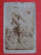 "Carte Photo 02  CHEMIN DES DAMES Secteur Postal 163  410 Eme RI  "" EGRET Georges "" 1ere Compagnie     Velo - Sonstige Gemeinden"