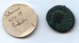 Antoninien De Salonine, Avec étiquette D'ancienne Collection - 5. La Crisi Militare (235 / 284)