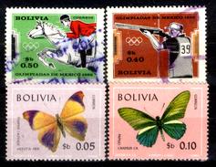 Bolivia-0145 - 1969-1970 - - Bolivia