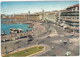 Marseille: VW 1200 KÄFER/COX & T1-BUS,RENAULT DAUPHINE, SIMCA ARIANE, CITROËN 2CV & DS, DODGE LANCER '58  - Quai Du Port - Turismo