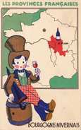 LES PROVINCES FRANCAISES, Bourgogne Et Nivernais - Werbepostkarten