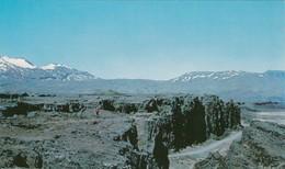 "Thingvellir , ICELAND , 50-60s ; ""Plain Of Parliament"" - Iceland"