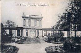 Cpa LORMONT 33 Château CARRIET - Altri Comuni