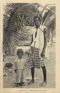 Ref G782- Afrique - Djibouti -phenomenes - Geant Et Nain  - Carte Bon Etat   - - Djibouti