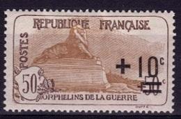 FR 183 - FRANCE N° 167 Neuf** Orphelins De Guerre - France