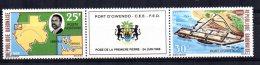 "Gabon - 1968 - ""Laying Of 1st Stone"" Owendo Port - MNH - Gabon (1960-...)"