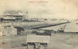 Ref G779- Afrique - Djibouti -le Port /petites Et Legeres Taches Par Endroits- Carte Bon Etat   General -- - Djibouti