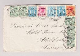 Monaco MONTE-CARLO 27.8.1927 Brief Nach Adelboden - Monaco