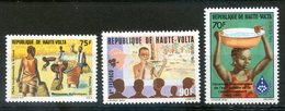 Haute Volta ; TP 1983, Pêche Traditionnelle ;NEUFS** - Haute-Volta (1958-1984)