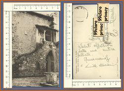 PP026 SIENA POGGIBONSI Castello Di BADIA Cortile Viaggiata - Siena
