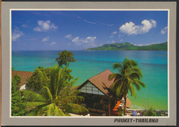 °°° 334 - THAILAND - PHUKET - KORUL BEACH LODGE , PA TONG BEACH - With Stamps °°° - Tailandia