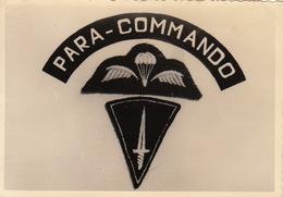 Photo Para Commando Belge Militaire - Guerre, Militaire