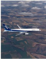 1045  Photo Avion - Aviation à Identifier : First 767-300 For All Nippon - Luftfahrt