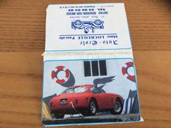 """Calendrier 1990 """"Ferrari 250 GT Berlinetta Coupé / Auto-Ecole LOCREILLE NOUVION-SUR-MEUSE (08)"""" - Small : 1981-90"""