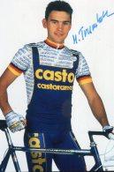 5239  Photo Cyclisme Henrich Trumheller Dédicacée - Cycling