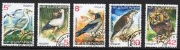 Birds Stamps, Gull, Eagle, Owl - Eagles & Birds Of Prey