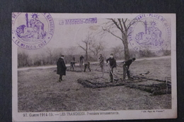 GUERRE 1914-15, LES TRANCHEES, PREMIERS TERRASSEMENTS - Militaria