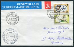 1991 Gibraltar Operation RaleighTurkey Ship M/V AKDBNIZ Cover - Gibraltar
