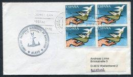 Spain Alicante C/F ZERALDA Alger Ship Cover - 1931-Today: 2nd Rep - ... Juan Carlos I