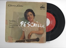 DISCO DE VINILO 45 T - GLORIA LASSO - GACHITO - LA VOZ DE SU AMO 1958 - Discos De Vinilo