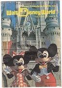 WALT DISNEY - GUIDE - MICKEY - FLORIDE - FLORIDA - WORLD - 1978 - 29 PAGES - - Divertissement
