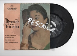 DISCO DE VINILO 45 T - MARIFE DE TRIANA - ME VALGA LA MAGDALENA - COLUMBIA 1960 - Discos De Vinilo
