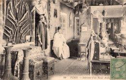 V5699 Cpa Tunisie - Tunis, Intérieur D'un Bazar Arabe - Tunisie