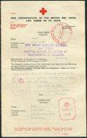 1942 Guernsey Red Cross Message - Guernsey
