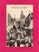 44 LOIRE ATLANTIQUE, FROSSAY, Les Fêtes-Dieu1920, Avant-Garde, Vétérans, Jeunesse Catholique, Animée, 1920 - Frossay