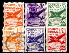 Bolivia-0176 - Posta Aerea - 1950 - - Bolivia