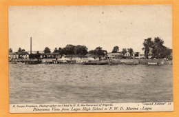 Lagos Nigeria 1910 Postcard - Nigeria