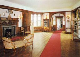 1 AK England * Bamburgh Castle - The Faire Chamber - County Northumberland * - England