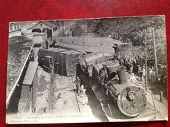 54 NANCY Catastrophe De Chemin De Fer Du 12 Septembre 1911 - Nancy