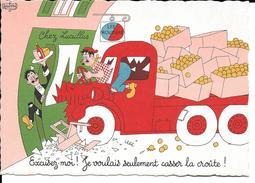 CPA Illustration DUBOUT Camion De Livraison   1961 - Dubout