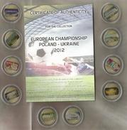 Polonia, European Championship Poland Ukraine 2012, 10 Monete Da 20 Zl. Con Gli Stadi Di Calcio Del Torneo. - Polonia