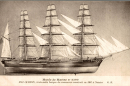 MUSEED E MARINE N0 2300  MAC MAHON - Segelboote