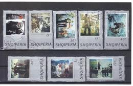ALB483  ALBANIEN 1974  MICHL 1720/27  Used / Gestempelt SIEHE ABBILDUNG - Albanien