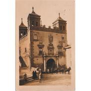 TLDTPA2862-LFTD3126.Tarjeta Postal DE TOLEDO.Edificios,tiro De Caballos,personas En La PUERTA DEL CAMBRON   En TOLEDO - Toledo