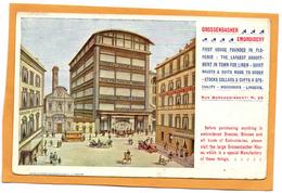 Firenze Grossenbacher Embroidery 1905 Postcard - Firenze (Florence)