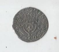 HENRI II  .DOUZAIN AUX CROISSANTS. 1550 A .PARIS. DY 997 - 1547-1559 Henri II