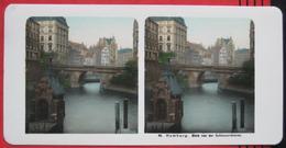 Stereofoto: Deutschland Hamburg (HH) - Blick Von Der Schleusenbrücke - Stereo-Photographie