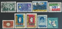 Iran  1963   9 Diff Used    2016 Scott Value $6.80 - Iran