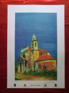 Foto Litografia CITTANOVA, CHIESA MADONNA DELLE CATENE Di Nello Cuzzola - PERFETTA - Litografia