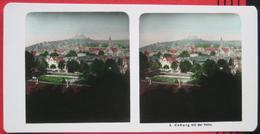 Stereofoto: Deutschland Bayern Coburg (CO) - Panorama Mit Der Veste - Stereoscopio